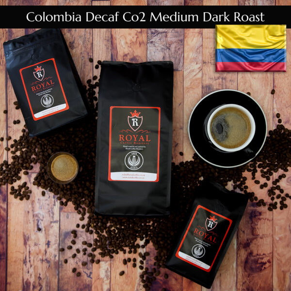 Royal Coffee Roasters || Colombia Decaf CO2 Medium Dark Roast