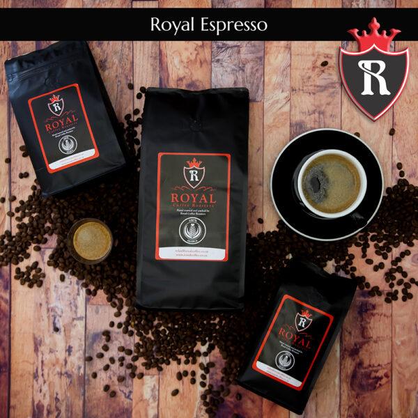 Royal Coffee Roasters    Royal Espresso